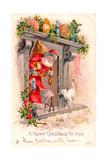 Christmas Postcard  1903
