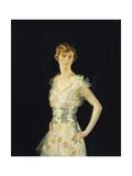 Portrait of Gardenia  Three Quarter Length  1915