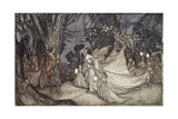 The Meeting of Oberon and Titania  1908