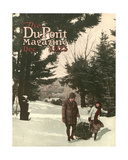 Christmas Tree  Front Cover of the 'Dupont Magazine'  December 1923