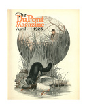 Less Vermin - More Game  Front Cover of the 'Dupont Magazine'  April 1923