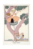 Cherries  from 'Falbalas and Fanfreluches  Almanach des Modes Présentes  Passées et Futures'  1926