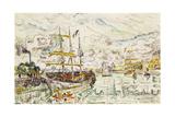 Le Port de Saint-Malo  1930