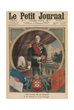 French Hosts  His Majesty Manuel II  King of Portugal  Front Cover Illustration from 'Le Petit…