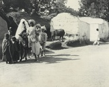 Group of Natives in the Village of Fatibad  Near Agra  January 1912