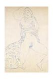 Nude; Halbakt  1913 (Nude; Halbakt Gustav Klimt (1862-1918))