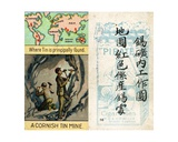 Principal Areas for Tin Mining  from the Series of 'Products of the World' Cigarette Cards…