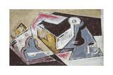 Cubist Composition; Composition Cubiste  c1918