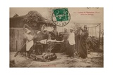 Camp at Sissonne  Aisne  France Postcard Sent in 1913