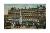 Charing Cross Hotel  London Postcard Sent on 16 December 1913