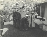 Arthur Brodrick  Judy Smith and Sylvia Brooke Stopping for Breakfast at Amber  Jaipur  1911
