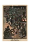 Christmas in Morocco  the Christmas Tree of the Legionnaires  Back Cover Illustration from 'Le…