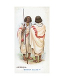 Customary Greeting in Abyssinia  1907
