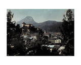 View of the City of Kufstein  Austria  1929