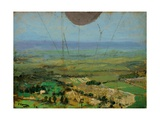 From a Kite Balloon  Roehampton  1917