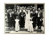 Wedding Party of Revd Prempeh  Son of the Late King Prempeh and Miss Mary Asafu-Adjaye  c1931