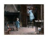 Children in an Interior  1907