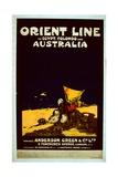Orient Line Poster  c1920