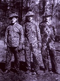 WW2 Experimental US Army Camouflaged Uniforms  Fort Ethan  Vermont  1942