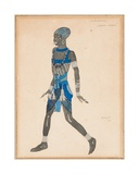 A Costume Design for 'Cleopatra'  1910