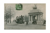 Quadriga Peace on Wellington Arch in London Postcard Sent in 1913