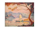 Antibes  Petit Port de Bacon  1917