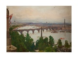 The River Pageant  as Seen from the Home of Sir James Barries  Adelphi Terrace  London  4 August…
