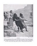 Fishing  Illustration from 'Hutchinson's History of the Nations'  c1910