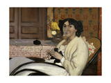 Portrait de Madame Rodrigues-Vallotton  the Artist's Wife  1902