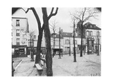 Place Du Tertre  Montmartre  Paris  c1900-20