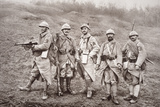 French WWI Infantry with Weapons  1918
