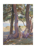 Two Nudes under Pine-Trees; Deux Nus Sous Les Pins  1925