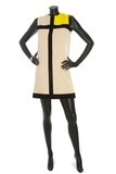 'Mondrian' Dress  Yves Saint Laurent  1966