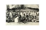 King Sri II and His Suite  Togo  c1920