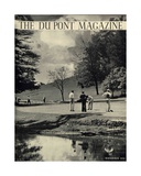 Golfers  Front Cover of the 'Dupont Magazine'  July-August 1936