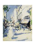 Street in Paris  c 1907