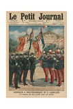 Honour to Polytechnique and Saint-Cyr  Front Cover Illustration from 'Le Petit Journal' …