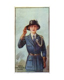 Princess Mary  President of the Girl Guides  1923