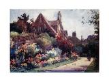 Worcester College Garden