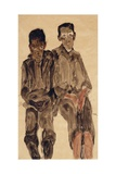 Two Seated Boys  1910
