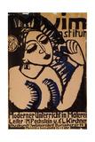 Poster Institute Muim; Plakat Muim Institut  1911