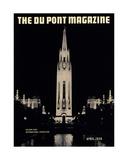 Golden Gate International Exposition  Front Cover of the 'Dupont Magazine'  April 1939