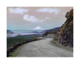 The Columbia River Winds Through Mountainous Maryhill and Mt Hood  the Columbia River Highway…