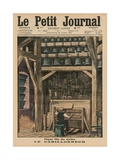 Easter  the Bell Ringer  Front Cover Illustration from 'Le Petit Journal'  Supplement Illustre …