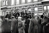 Revolutionary Soldiers and Sailors in the Streets of Petrograd  February 1917