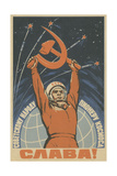 Hail the Soviet People - the Pioneer of Space  1963