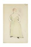Woman in Evening Dress  1912