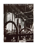 Industrial Plant  Front Cover of the 'Dupont Magazine'  March 1931