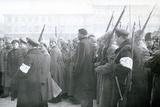 Revolutionary Militia Arresting Policemen  February 1917