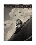 Wings Aloft  Front Cover of the 'Dupont Magazine'  May 1934